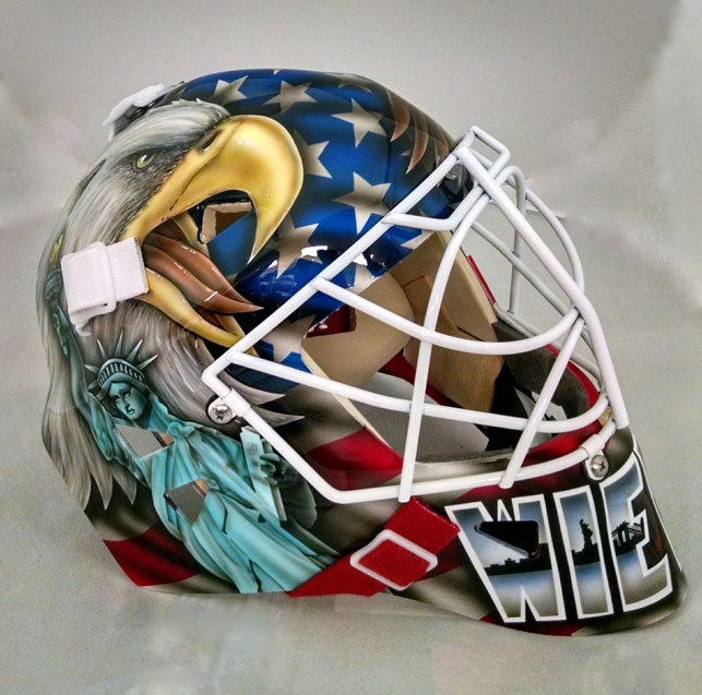 Warwick Mask Company Custom Crafted Goalie Masks Goalie Mask